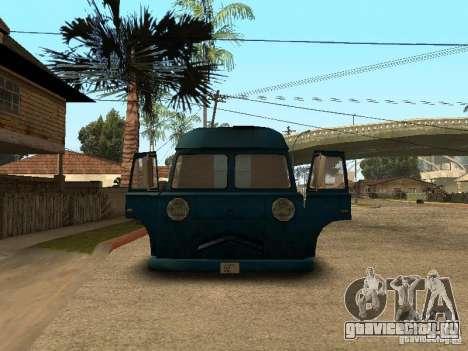 Гражданский Hotdog Van для GTA San Andreas вид справа