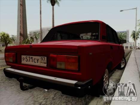ВАЗ 21054 для GTA San Andreas вид слева