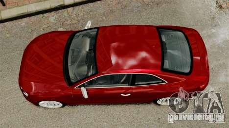 Audi RS5 2012 для GTA 4 вид справа