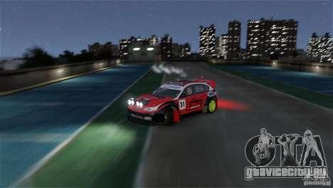 Subaru Impreza WRX STI RALLYCROSS Eibach Springs для GTA 4 вид сбоку