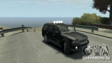 Lincoln Navigator для GTA 4 вид справа