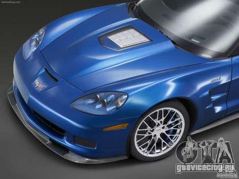 Загрузочные Экраны Chevrolet Corvette для GTA San Andreas шестой скриншот