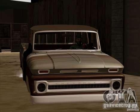 Chevrolet C10 Rat Rod для GTA San Andreas вид слева