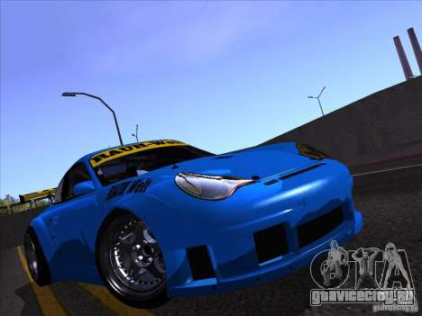 Porsche 911 GT3  RWB для GTA San Andreas вид справа