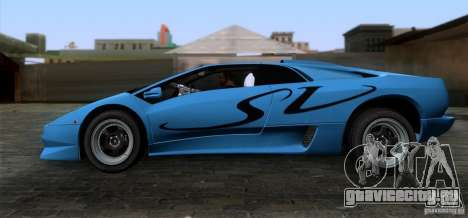 Lamborghini Diablo SV V1.0 для GTA San Andreas вид слева