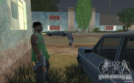 Дом зелёных для GTA San Andreas четвёртый скриншот