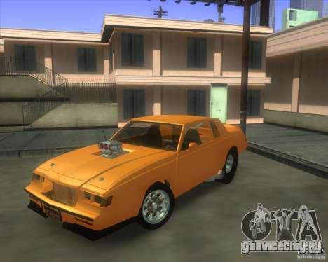 Buick GNX pro stock для GTA San Andreas