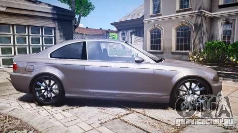 BMW 3 Series E46 v1.1 для GTA 4 вид сбоку