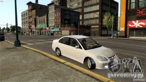 Honda Civic V-Tec для GTA 4 вид слева