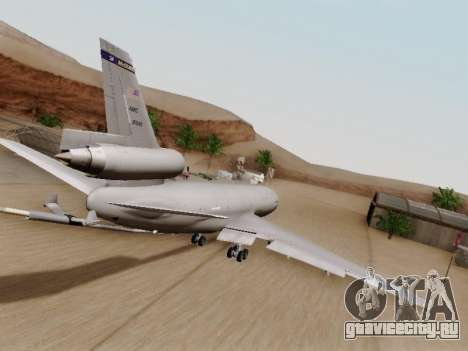 McDonell Douglas KC-10A Extender для GTA San Andreas вид справа