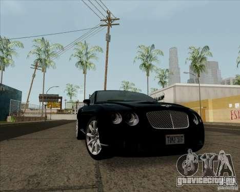 Bentley Continental GT V1.0 для GTA San Andreas вид слева