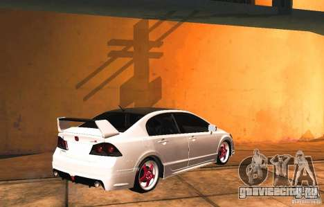 Honda Civic JDM для GTA San Andreas вид слева