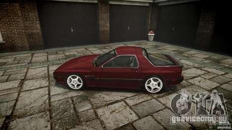Mazda RX7 FC3S для GTA 4 вид слева