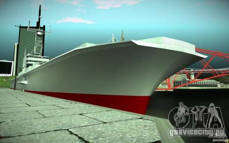 Авианосец V2 Final для GTA San Andreas