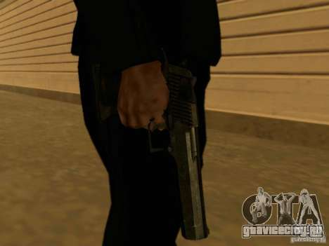 Desert Eagle MW3 для GTA San Andreas третий скриншот