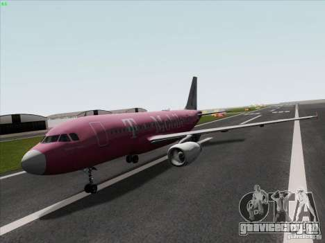 Airbus A319 Spirit of T-Mobile для GTA San Andreas