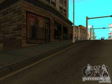 New Mullholland - Новая улица Мулхолланд для GTA San Andreas четвёртый скриншот