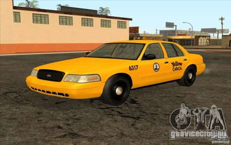 Ford Crown Victoria Taxi 2003 для GTA San Andreas