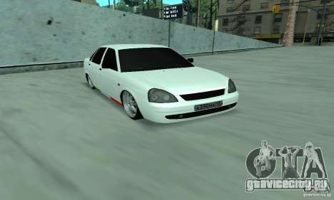 Lada Priora Italia для GTA San Andreas вид слева