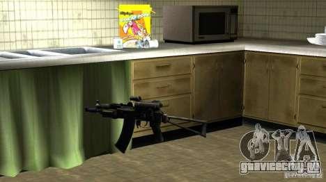 Пак Отечественного Оружия Версия 6 для GTA San Andreas