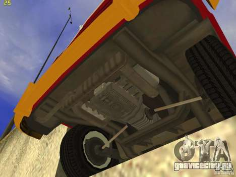 Volkswagen Transporter T1 Camper для GTA San Andreas вид справа