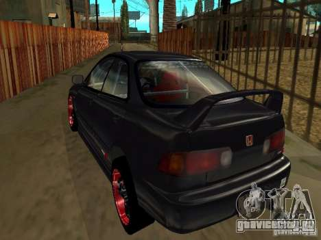 Honda Integra TypeR для GTA San Andreas вид сбоку