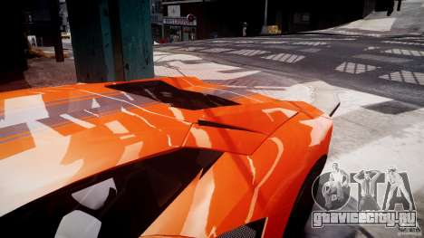 Lamborghini Aventador LP700-4 2011 [EPM] для GTA 4 колёса