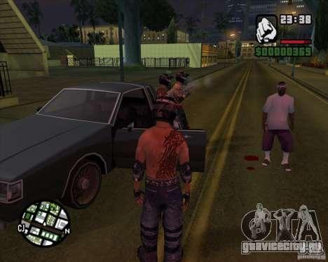 Новые скины для Грув для GTA San Andreas второй скриншот