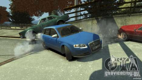 Audi S4 Avant для GTA 4 двигатель