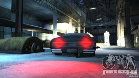 Apocalyptic Mustang Concept (Beta) для GTA 4 вид сзади