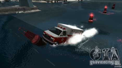 Ambulance boat для GTA 4