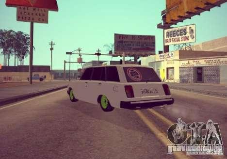 ВАЗ 2104 для GTA San Andreas вид слева