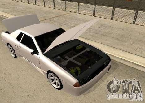 Elegy MIX v2 для GTA San Andreas вид справа