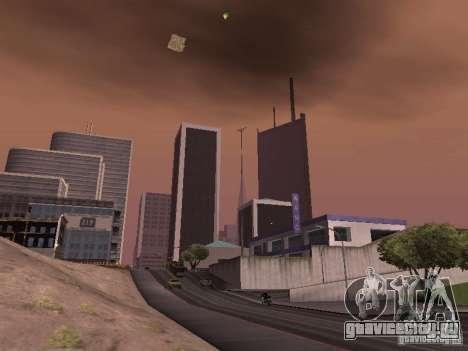 Weather manager для GTA San Andreas четвёртый скриншот