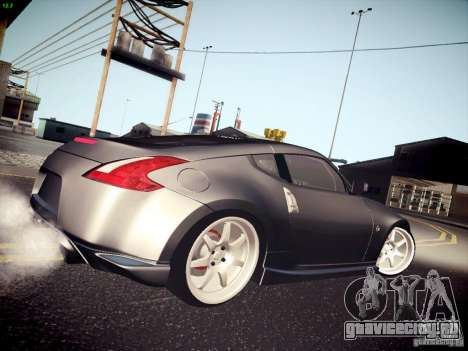 Nissan 370Z Fatlace для GTA San Andreas вид слева
