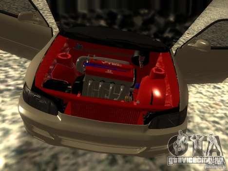 Honda Civic EG6 JDM для GTA San Andreas вид сзади