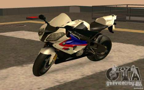 BMW S1000RR City Version для GTA San Andreas вид сзади слева
