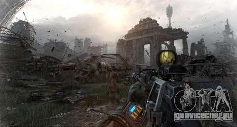 Metro Last Light AK 47 для GTA San Andreas третий скриншот