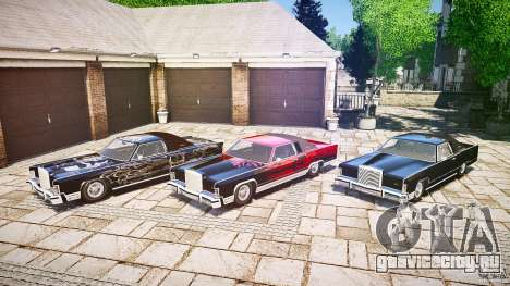 Lincoln Continental Town Coupe v1.0 1979 [EPM] для GTA 4 вид снизу