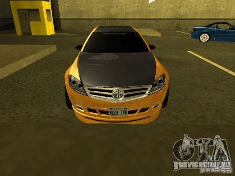 GTAIV Schafter Modded для GTA San Andreas вид изнутри