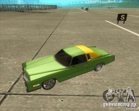 Cadillac Eldorado для GTA San Andreas салон
