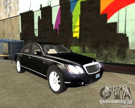 Maybach 57S для GTA San Andreas