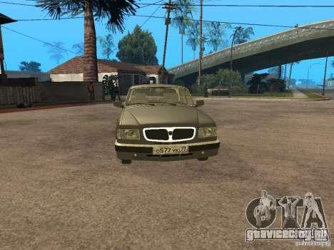 ГАЗ 3110 v 2 для GTA San Andreas вид сзади слева