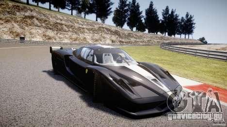 Ferrari FXX для GTA 4 вид сзади слева