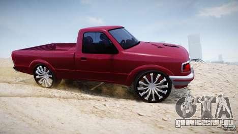 Ford Ranger для GTA 4 вид изнутри
