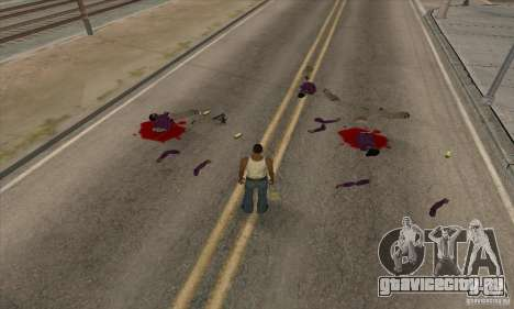 GTA SA Real ragdoll для GTA San Andreas