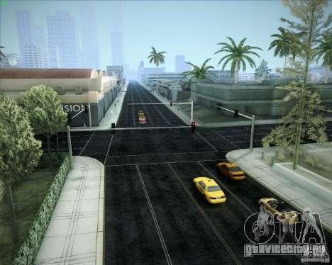 Новые дороги во всем San Andreas для GTA San Andreas одинадцатый скриншот