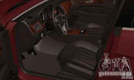 Mercedes-Benz CLS63 AMG 2012 для GTA San Andreas вид сзади