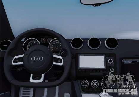 Audi TT-RS Coupe для GTA San Andreas двигатель