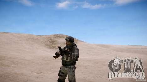 Капитан Прайс из COD MW3 для GTA 4 пятый скриншот